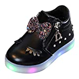 LED Schuhe Unisex-Kinder Hohe Sneaker Leuchtschuhe Licht Blinkschuhe Leuchtende Sport Sneaker Light up Turnschuhe Damen Herren Kinder Shoes