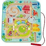 Haba 301056 - Magnetspiel Stadtlabyrinth, pädagogisches Holzspielzeug für Kinder ab 2...