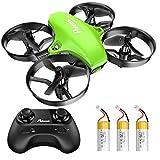 Potensic Mini Drohne für Kinder und Anfänger mit 3 Akkus, RC Quadrocopter, Mini Drone...