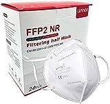 LUYAO Atemschutzmaske FFP2 Maske - EU CE 2163 Zertifiziert EN 149 Schutzmaske 20 Stück...