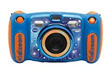 Vtech Kidizoom Duo 5.0 Digitale Kamera für Kinder, 5 MP, Farbdisplay, 2 Objektive, Englische Version, blau