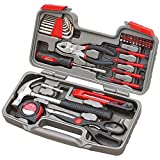 NeoMcc Home Hardware Werkzeuge Geschenk Werkzeug-Set DIY Repair Kit Zangen Schraubendreher-Kombination - Toolkit Set für Easy DIY & Reparaturen (Color : Red, Size : One Size)