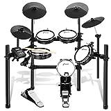 Donner E-Drum Kit elektronisches Schlagzeug mit Drumsticks (DED-200)