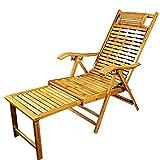 Extra Large Loungers Deck Chair Outdoor Garden Recliner Chair,Folding Portable Beach Sun...
