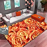 Feidaeu Simple Multicolor Ink Carpet Living Room Home Bedroom Mat Coffee Table Soft Study Floor Area Rugs
