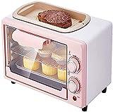 YUEDAI Miniofen, 12L Haushalt Kleiner Ofen zum Backen, multifunktionale automatische...