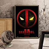 XWArtpic Klassische Retro Cartoon Amerikanischen Superhelden Supermacht Film HD Poster Bar Schlafzimmer Home Kinderzimmer Dekoration leinwand malerei 30 * 40 cm