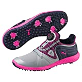 PUMA Ignite Blaze Sport DISC Damen Golfschuhe Quarry-Knockout PINK UK 3.5_Adults_FR 36