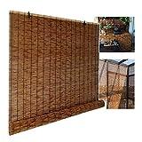 XYNH Bambusrollo Outdoor, Rollo Bambus, Lichtfilterung/Wasserdicht/Anti-UV,Rollo Bambus,...