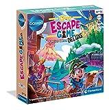 Clementoni 59257 Escape Game Deluxe Version, spannendes Gesellschaftsspiel zum Knobeln &...