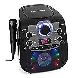 auna StarMaker 2.0 Karaoke-Anlage Karaokemaschine, Bluetooth-Funktion, CD-Player, für CD,...