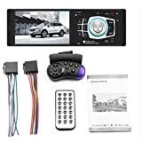 4022D 4,1 Zoll TFT HD Digital Screen Auto DVD Audio MP5 Player Car Kit Radio FM Transmitter Unterstützung Freisprechanrufe-Schwarz
