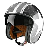Origine helmets 202537028101802 Sprint Rebel Star Open Face Helme