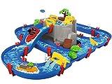 AquaPlay - Wasserbahn Set Bergsee - 42-teiliges Spieleset mit Bergsee, Wasserfall und...