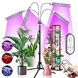 CXhome 432 LEDs Pflanzenlampe Vollspektrum Pflanzenlicht mit Stativ Grow Light für...