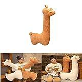 Flauschiges Alpaka-Spielzeug, Alpaka-Plüschtier mit langem Hals, Weiches...