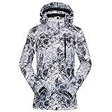 NINAINAI Damen Skianzug Damen Skiabwehrski-Jacke warme professionelle Skijacke Praktisches...