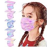 DressLksnf 50 Stück Mund-Nasen-Masken für Kinder ATEMSCHUTZMASKE FÜR Kinder SCHACHTEL...