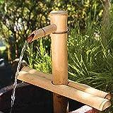 Bambus Brunnen Dekor, Bambus Wasserspiel, Gartendekoration, Wasserfall, Pumpe, Japanische...