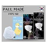 MONEUAL Made in South Korea / [24 St] FFP2 Atemschutzmaske / CE Zertifiziert / Dermatest...