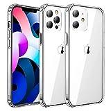 Ultra Crystal Hülle Kompatibel mit iPhone 12/12 Pro (6.1 Zoll) [Anti Gelb] Transparent...