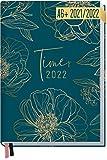 Chäff-Timer Mini Kalender 2021/2022 A6 [Goldblüte] Terminplaner, Terminkalender für 18...