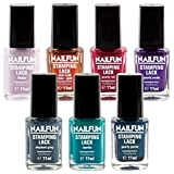 SET - 7x NAILFUN Stampinglack - Beautyful Colors - [7x 11ml]