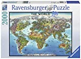Ravensburger 16683 Puzzle World Map, Mehrfarbig, 38.5' x 29.5'