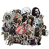 Cartoon Stickers Game of Thrones Stickers War Tv Series for Luggage Car Laptop Notebook Decal Fridge Skateboard Sticker 61Pcs