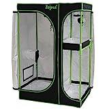 Zelsius Growzelt 'MyHomeGrow' 2-in-1 Grow tent | Indoor Growbox | schwarz grün | Growroom...