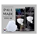 MONEUAL Made in South Korea / [6 St] FFP2 Atemschutzmaske (S) / CE Zertifiziert /...