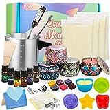Popolic Kerzenherstellung Kit, DIY Kerzenherstellung Zubehör, Duftkerze Geschenke Set,...