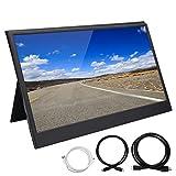 IPS-Bildschirm Ultra-Thin 1080P HD-Monitor Tragbarer 13,3-Zoll-Monitor für Laptop-Telefon...