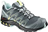 Salomon Damen XA Pro 3D W, Trailrunning-Schuhe, Grau (Stormy Weather/Lead/Eggshell Blue), Größe: 40