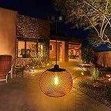 Innoo Tech Solar Laterne Aussen Innen, IP65 Wasserdicht LED Garten Hängende Laterne,...