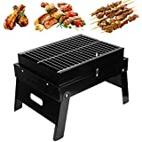 Jacksking Barbecue Grill, Outdoor Camping Patio BBQ Grill Falten tragbaren Grill Herd, Outdoor BBQ Grill
