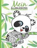 Mein allerliebstes Mandala Malbuch: 50 wunderschöne Tier-Mandalas für Kinder ab 6 Jahren...