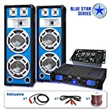 PA Set Blue Star Series Basskern USB 2800 Watt