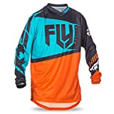Fly Racing Kids Jersey F-16 Orange Gr. XL