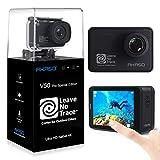 AKASO Action Cam 4K/60fps WiFi Sport Kamera 20MP, 39m Unterwasserkamera Touchscreen EIS...
