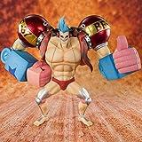 LUALU Biegbare Actionfiguren Spirits Figuarts Zero Collection Figur - Franky Hands-On...