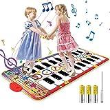 Vimzone Piano Matte für Kinder, Tanzmatte Musikmatte Klaviermatte Klaviertastatur...