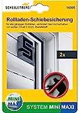 Schellenberg 16000 Rolladen-Schiebesicherung Rolladensicherung gegen Hochschieben 2 Stück...