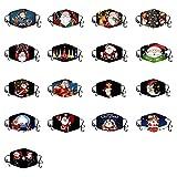 Protect_Cover_Maske für Erwachsene, waschbar, wiederverwendbar, Weihnachtsdruck, mit...