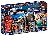 PLAYMOBIL Adventskalender 70778 Novelmore 'Darios Werkstatt' mit zahlreichen Figuren und...