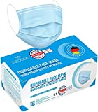 Derma-Test: Sehr Gut 50x geprüfte Masken Made IN Germany Medizinische Mundschutz Maske - TYP II BFE...