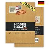 Hidden Games Tatort Krimispiel Fall 1 - Der Fall Klein-Borstelheim - Escape Room Spiel...