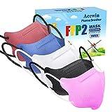 Sehr Kleine Größe FFP2 Maske Bunt CE Zertifiziert - 20 Stück Farbige FFP2 Masken EN...