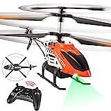 VATOS RC Hubschrauber - 22 Minuten Fliegen Ferngesteuerter Hubschrauber mit LED-Licht -...