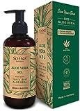 Aloe Vera Gel mit 100% BIO ALOE VERA | Frei von Alkohol & Parfüm | NATURKOSMETIK |...